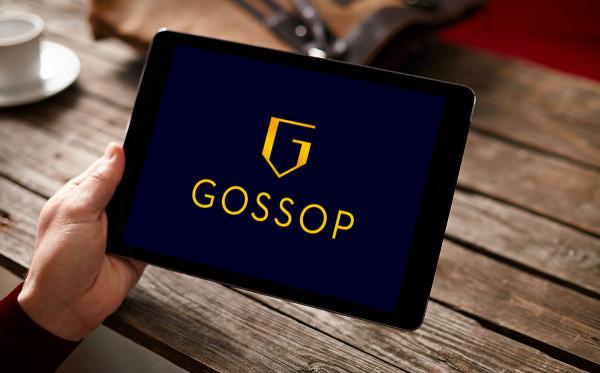 Sample branding #2 for Gossop