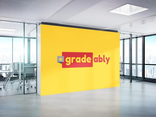 Sample branding #3 for Gradeably