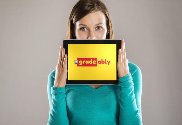 Sample branding #2 for Gradeably