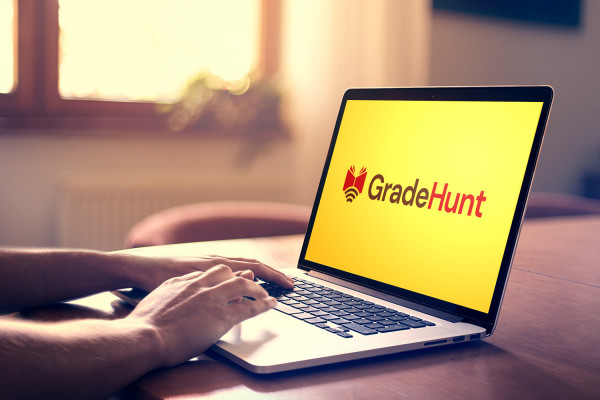 Sample branding #3 for Gradehunt