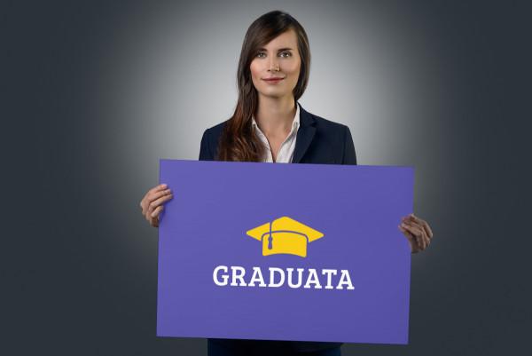 Sample branding #2 for Graduata