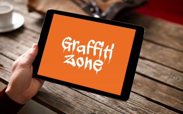 Sample branding #1 for Graffitizone