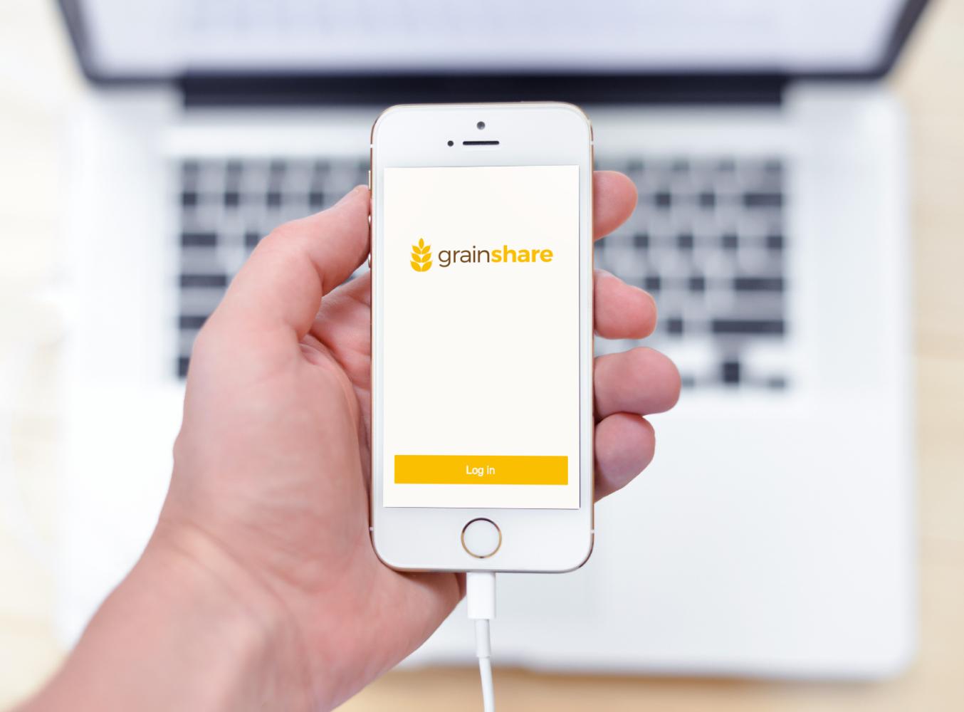 Sample branding #1 for Grainshare