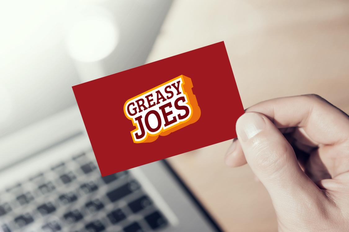 Sample branding #2 for Greasyjoes