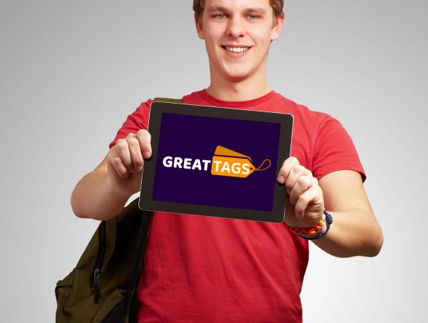 Sample branding #2 for Greattags
