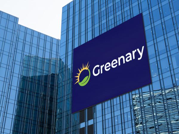 Sample branding #2 for Greenary