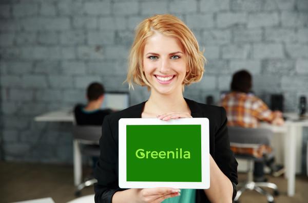 Sample branding #1 for Greenila