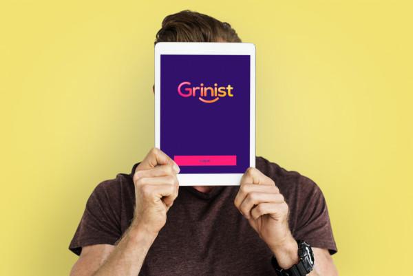 Sample branding #1 for Grinist