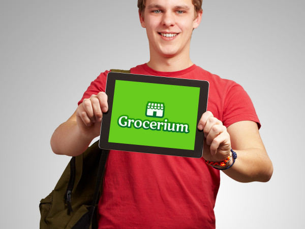 Sample branding #3 for Grocerium