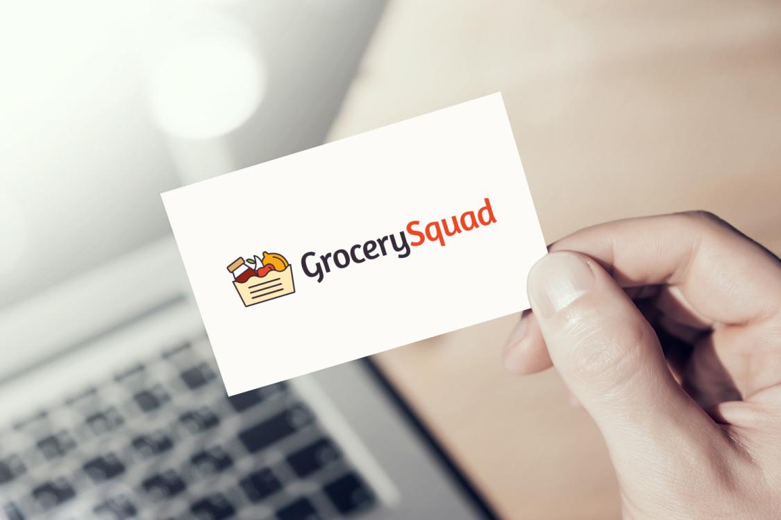 Sample branding #3 for Grocerysquad