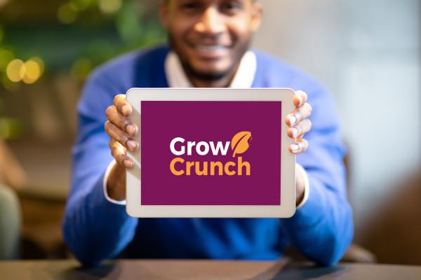 Sample branding #1 for Growcrunch