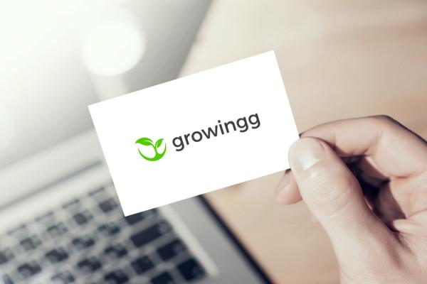 Sample branding #2 for Growingg