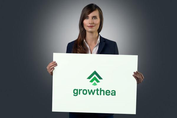 Sample branding #1 for Growthea