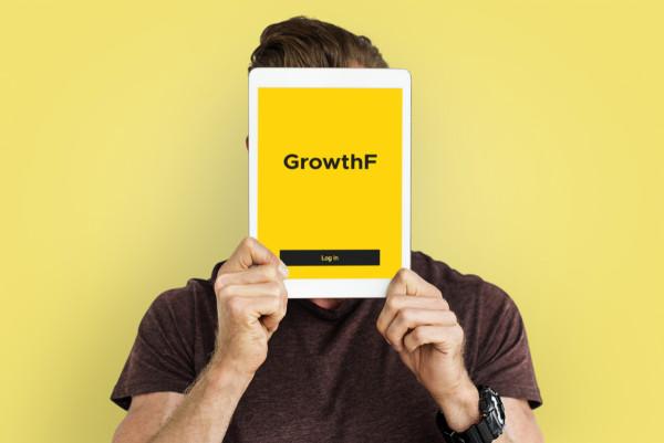 Sample branding #1 for Growthf