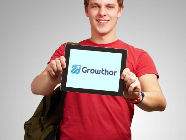 Sample branding #1 for Growthor
