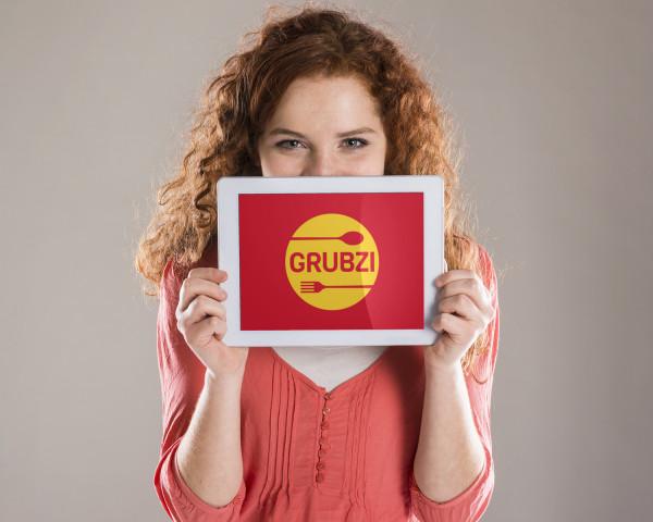 Sample branding #1 for Grubzi
