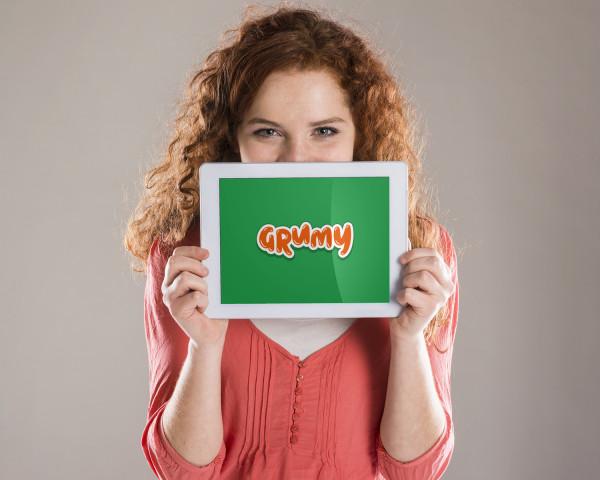 Sample branding #3 for Grumy