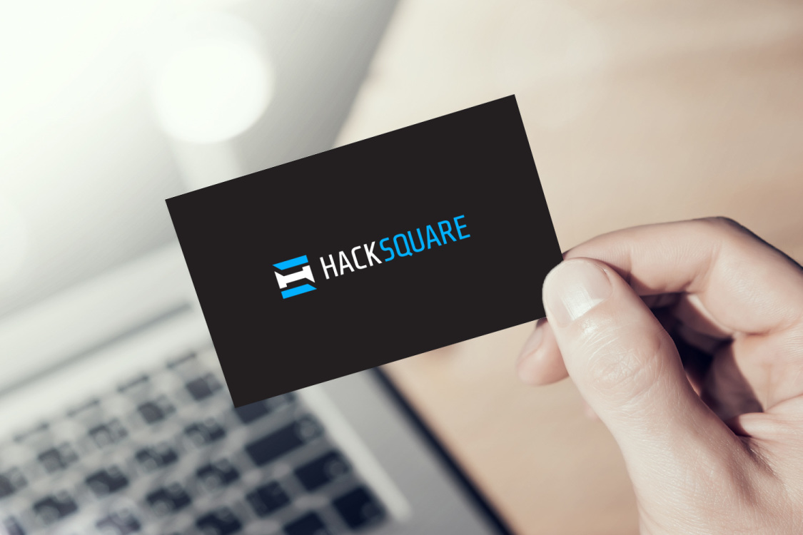 Sample branding #3 for Hacksquare