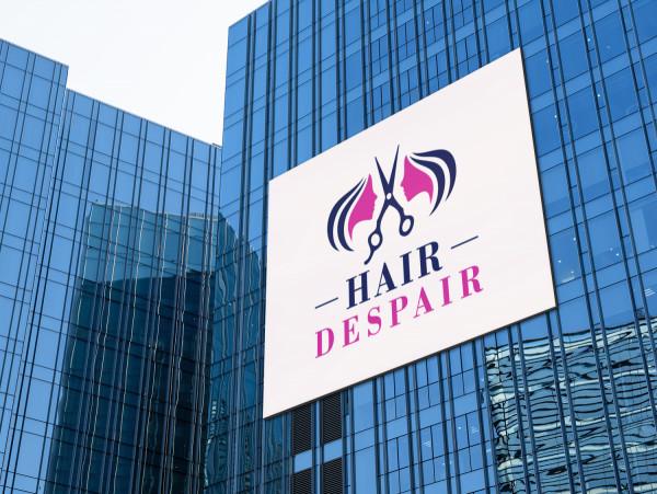 Sample branding #2 for Hairdespair