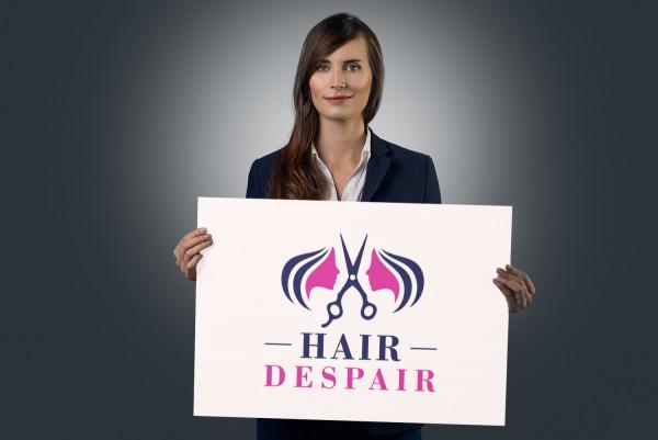 Sample branding #3 for Hairdespair