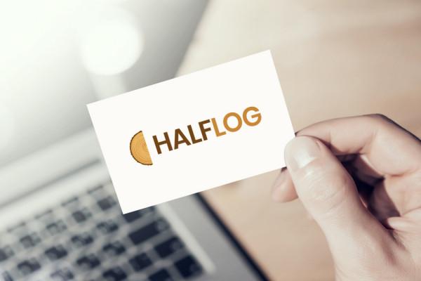 Sample branding #2 for Halflog