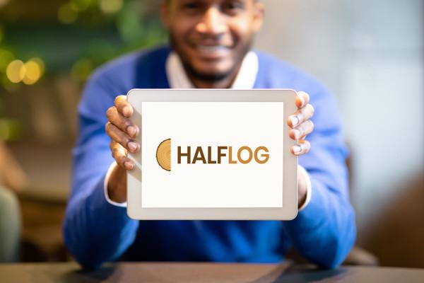 Sample branding #3 for Halflog