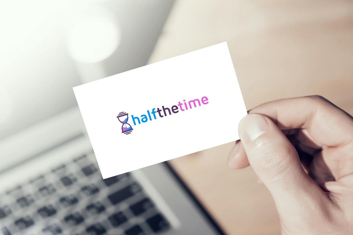 Sample branding #2 for Halfthetime