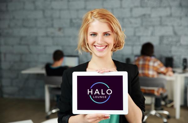 Sample branding #2 for Halolounge