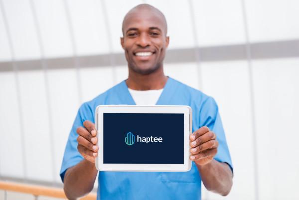 Sample branding #1 for Haptee