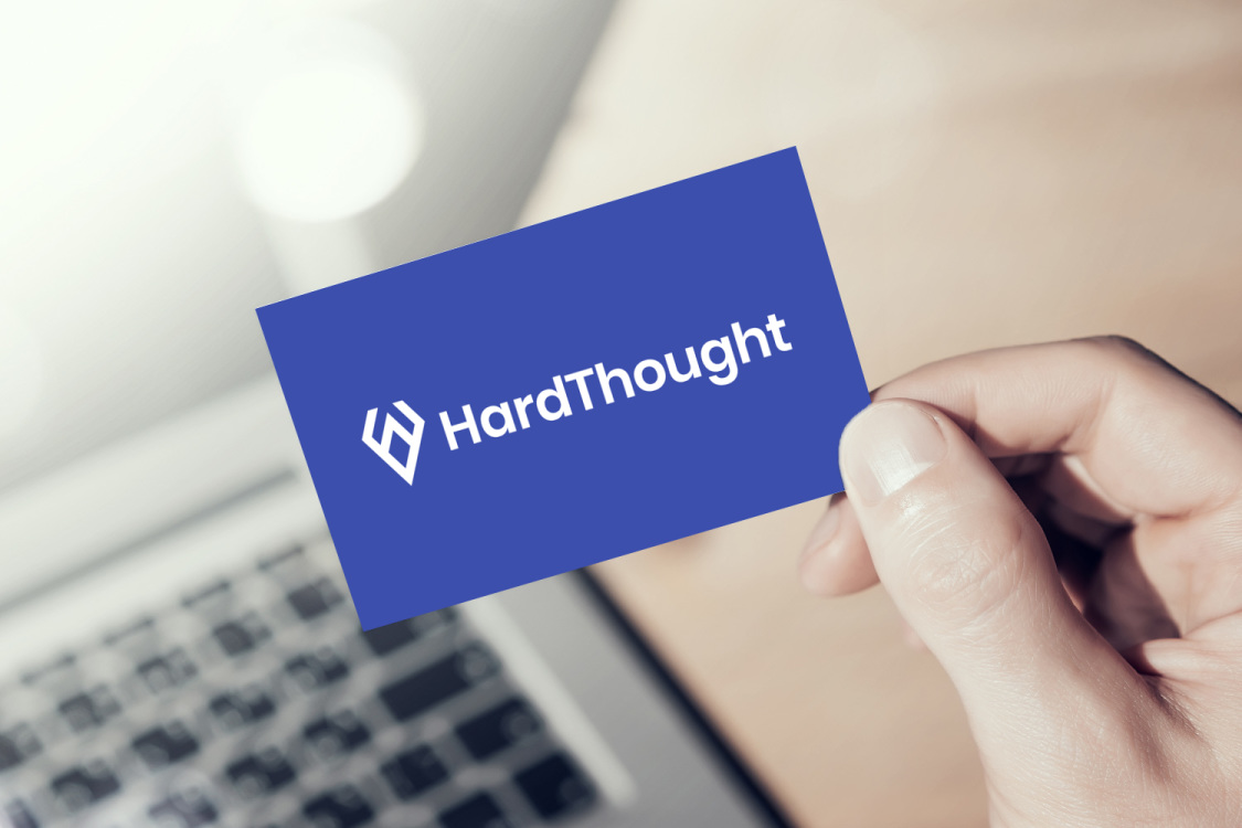 Sample branding #1 for Hardthought