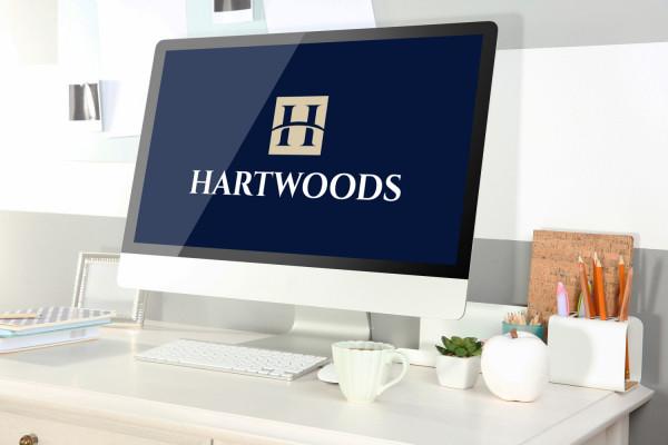 Sample branding #2 for Hartwoods