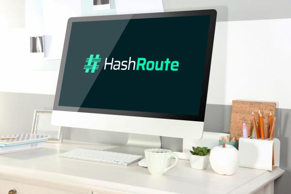 Sample branding #1 for Hashroute