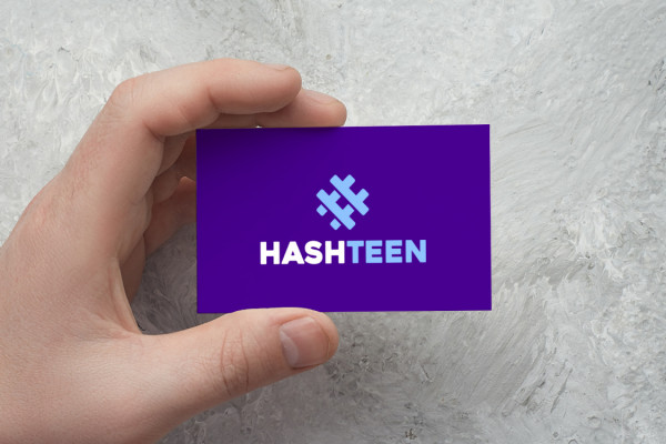 Sample branding #2 for Hashteen