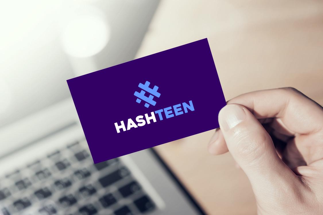 Sample branding #1 for Hashteen