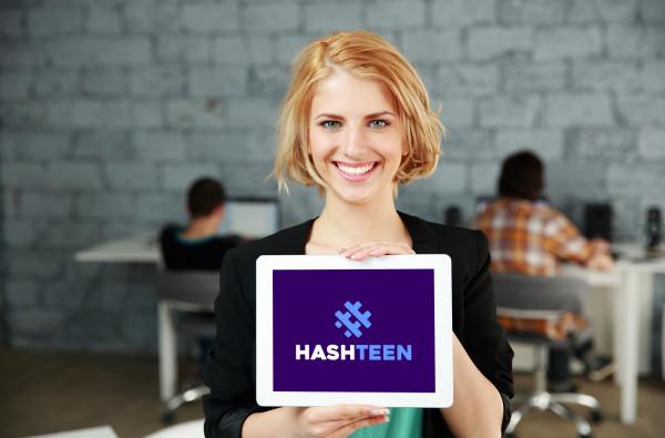 Sample branding #3 for Hashteen