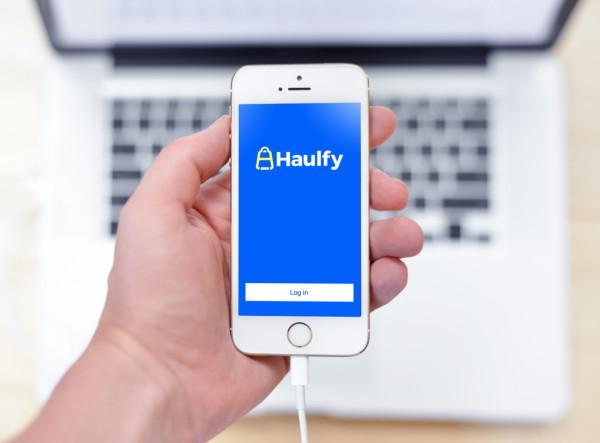 Sample branding #2 for Haulfy