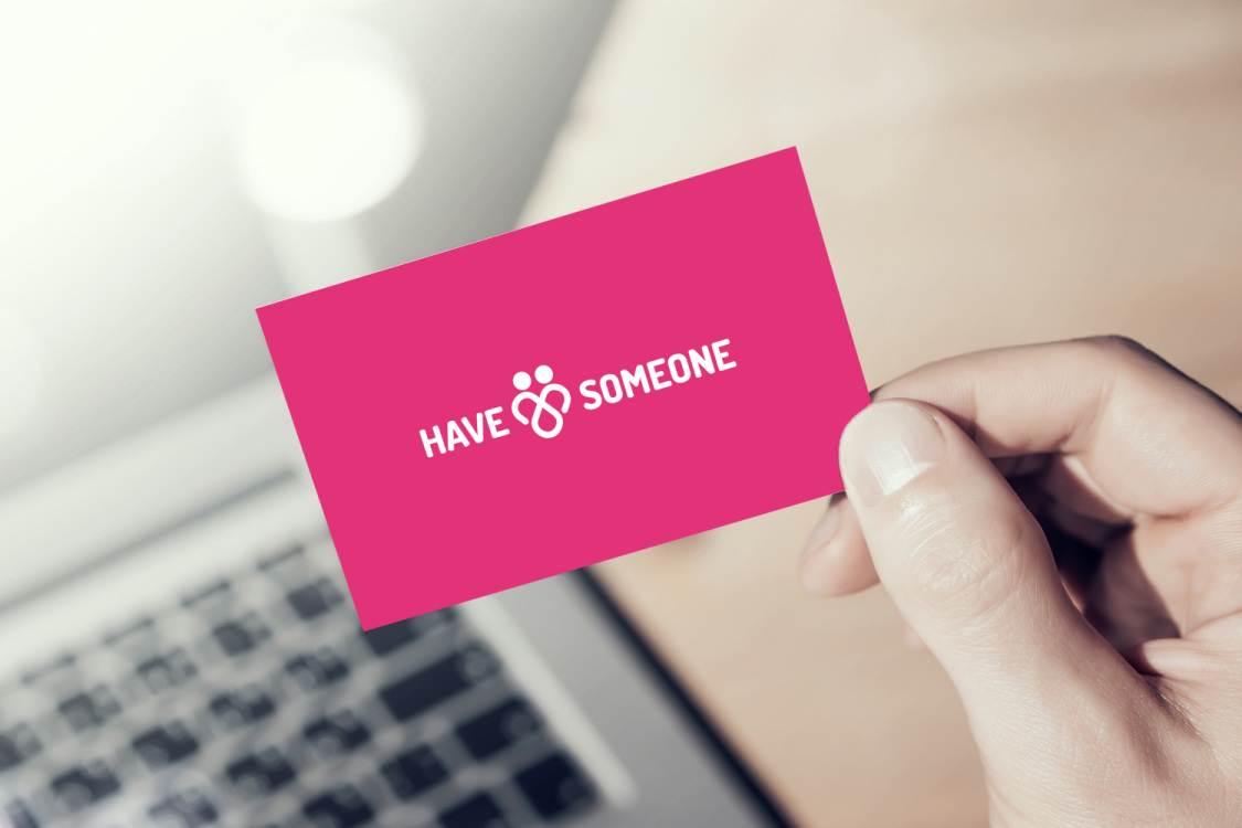 Sample branding #1 for Havesomeone