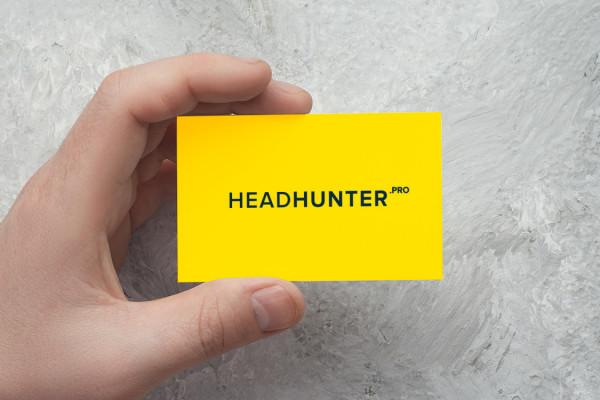 Sample branding #1 for Headhunter