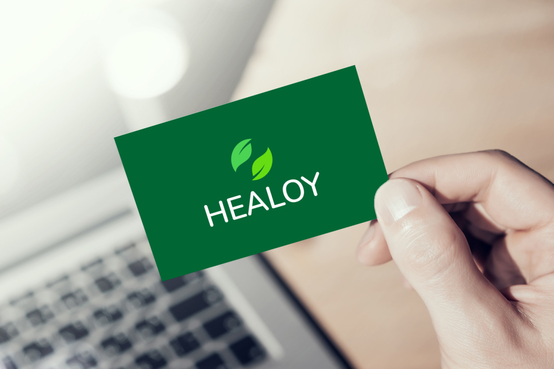 Sample branding #1 for Healoy