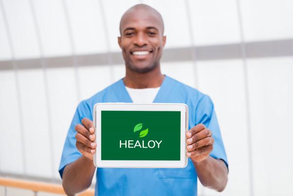 Sample branding #1 for Healoy