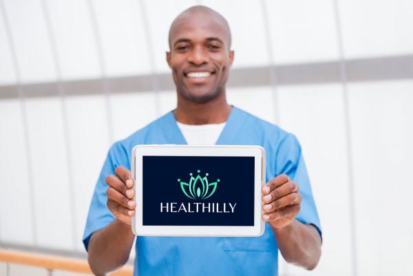 Sample branding #3 for Healthilly