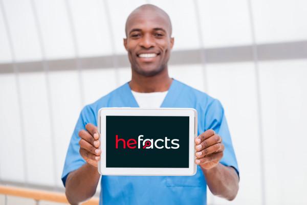 Sample branding #1 for Hefacts