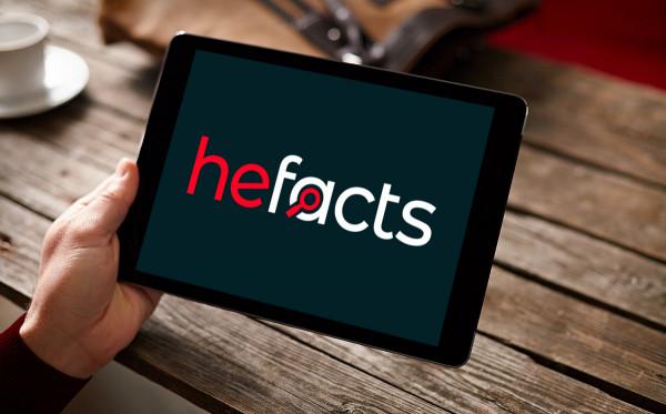 Sample branding #2 for Hefacts