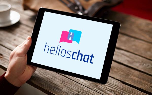 Sample branding #1 for Helioschat