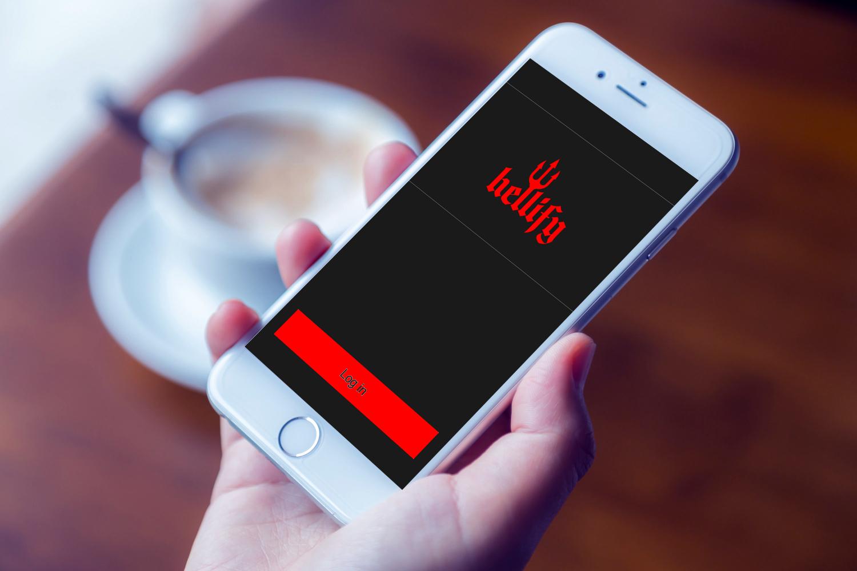 Sample branding #1 for Hellify