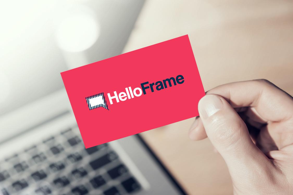 Sample branding #1 for Helloframe