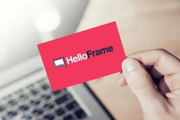 Sample branding #3 for Helloframe