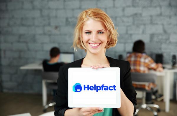 Sample branding #1 for Helpfact