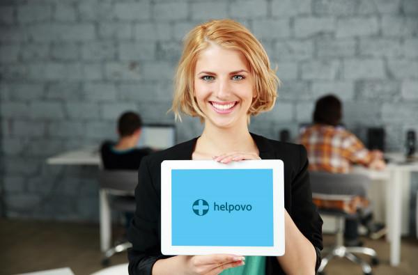 Sample branding #2 for Helpovo