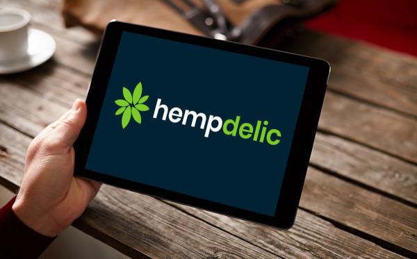 Sample branding #2 for Hempdelic